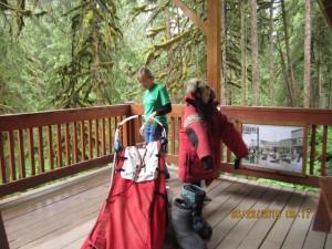 The Iditarod Sled and gear