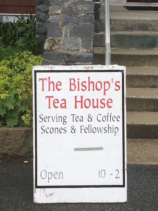 Bishops Tea House Sign