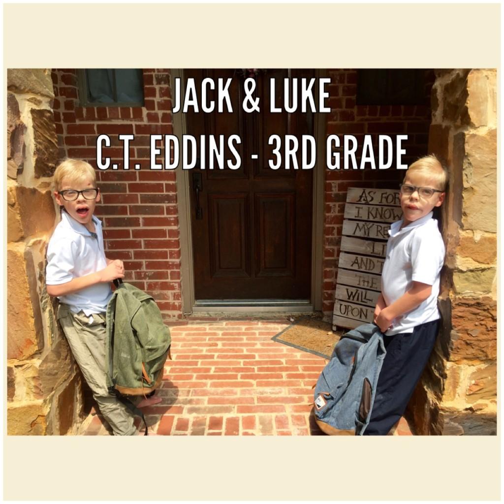 Jack & Luke - 3rd Grade