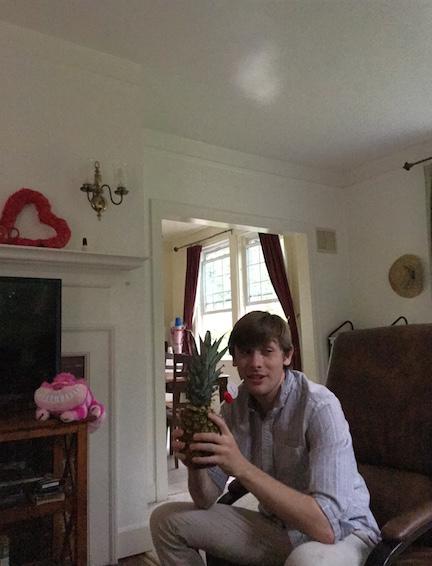 James' and his pina colata