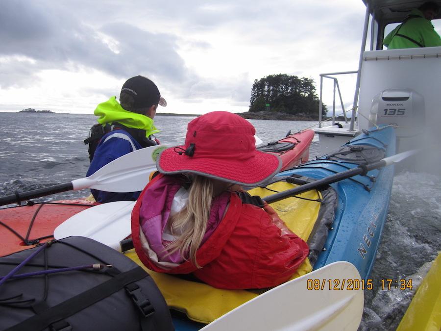 Kayak tow