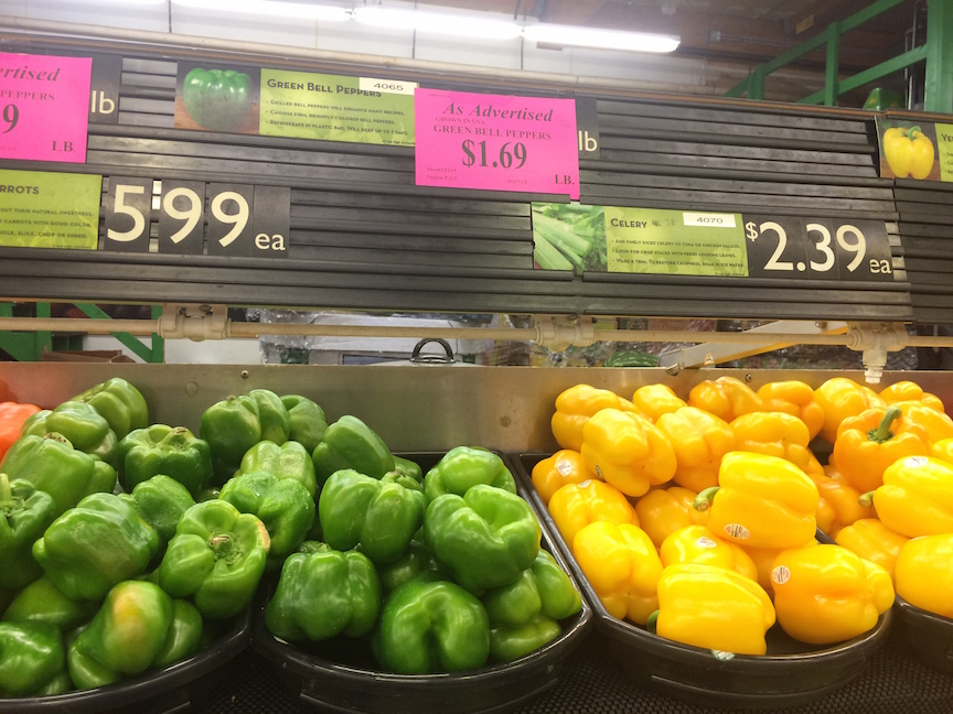 Pricing at Grocery1