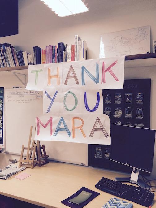 Thank You Mara