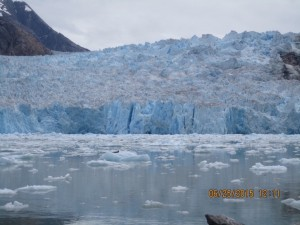 The Glacier at Tracy Arm