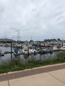 The inland harbor at Sitka